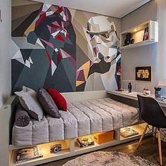 Quarto de hospedes, cama/sofá