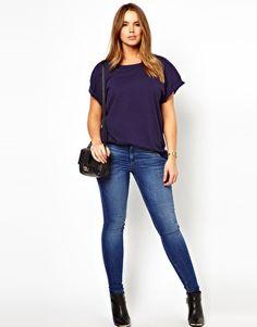 ASOS CURVE Boyfriend T-Shirt | $16.97