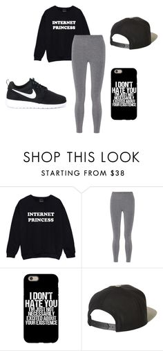 """""""Airplanes"""" by kuztommoxo ❤ liked on Polyvore featuring T By Alexander Wang, Brixton and NIKE"""
