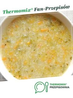 Wegańska zupa Termomix Healthy Habits, Cheeseburger Chowder, The Hamptons, Food And Drink, Thanksgiving, Ethnic Recipes, Soups, Stew, Thanksgiving Tree