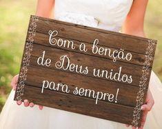 Placa Com a Benção de Deus