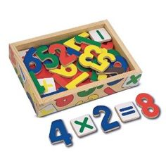 Melissa and Doug 449 - Magnet Holz-Nummer: Amazon.de: Spielzeug