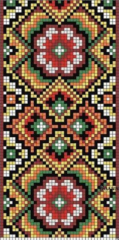 off loom beading stitches Tapestry Crochet Patterns, Bead Loom Patterns, Peyote Patterns, Beading Patterns, Embroidery Patterns, Jewelry Patterns, Beading Ideas, Beading Supplies, Beaded Embroidery