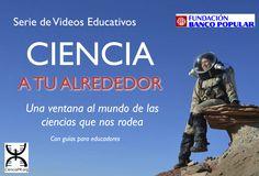 """<div></div> <div>La organización sin fines de lucro Ciencia Puerto Rico se complace en presentar una nueva serie de videos educativos titulada <strong><em>Ciencia a tu alrededor</em></strong>, desarrollada en colaboración con la <a href=""""http://www.fundacionbancopopular.org/""""><strong>Fundación Banco Popular</strong></a>.</div> <div></div> <div>A través de videos cortos (~10 minutos) ..."""