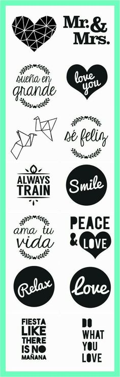 Frases Love Is In The Air, Silhouette Cameo, Decoupage, Stencils, Diy And Crafts, Typography, Clip Art, Printables, Letters