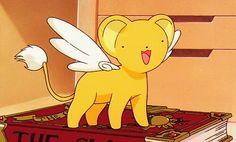your daily dose of kidcore! Cardcaptor Sakura, Kero Sakura, Cerberus, Clear Card, Skullgirls, Art Memes, Mood Pics, Anime, Magical Girl