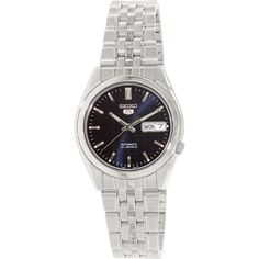 Seiko Men's 5 Automatic SNK357K Blue Stainless-Steel Automatic Watch