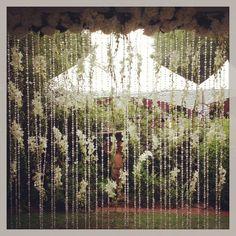 ashford manor wedding planned by natalie bradley events, outdoor wedding ideas, spring wedding ideas, floral and garland backdrop