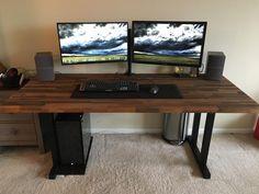 Low DIY computer desk ideas. #smalldiycomputerdeskideas - ziogiorgio.info