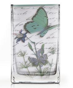 Notion Blue Butterfly Vase. $22.99