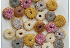 Mini doughnuts - Real Recipes from Mums