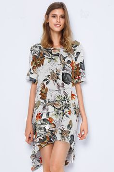 Force Of Nature Plant Casual Dress