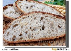 Chleba z naší vesnice recept - TopRecepty.cz Cranberry Pecan Bread Recipe, Bread Recipes, Cake Recipes, Make French Toast, Home Baking, Toasted Pecans, Sourdough Bread, Dough Recipe, Baked Goods