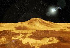 La sonde Venus Epxress prête pour sa mission à haut risque