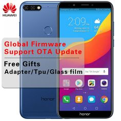 """Global Huawei Honor 7C Android 8.0 Mobile Phone Face ID 5.99"""" Full Screen Qualcomm Octa Core 13MP Dual Rear Camera Fingerprint  Price: 199.79 & FREE Shipping  #tech