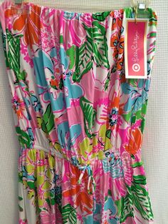 69d2159754d7 Details about LILLY PULITZER for TARGET NWT XXL NOSEY POSEY MAXI DRESS  HIDDEN KITTENS NEW PLUS