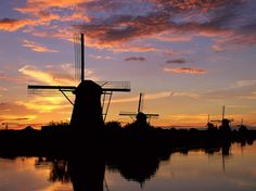 The Beauty Of Kinderdijk Netherland