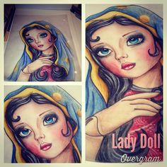Virgen de Guadalupe by lady doll