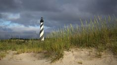 Cape Hatteras Lighthouse on North Carolina's Outer Banks is America's tallest lighthouse.