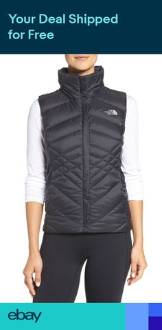 The North Face Womens Misses tnf BLACK ACONCAGUA VEST jacket coat S M L or  XL 4ece66899