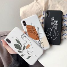 Line Art Phone Case for Apple IPhone 6s 7 8 Plus X XR XS Max   Etsy