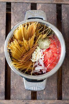 One Pot Pasta Grundrezept