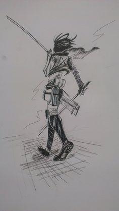 Attack on titan  Mikasa