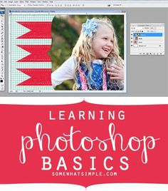 Learning photoshop basics: layers + clipping masks