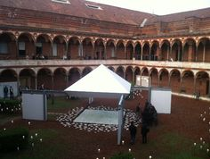 Second courtyard at Università Statale for mdw2014