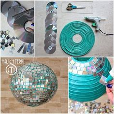 Love this DIY idea for the dance floor!  I can do this!!!