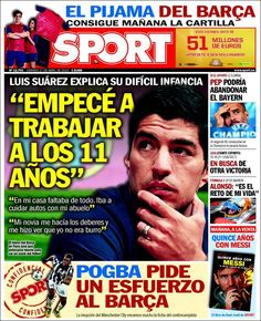Portada Sport 17/04/2015