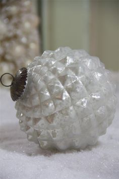 Romantic Pearl Ornament | Large Christmas Ornament