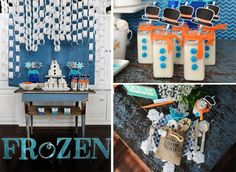 Disney's Frozen Party via Kara's Party Ideas
