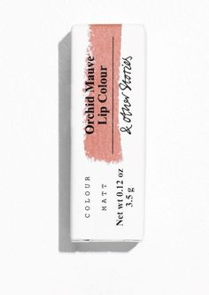 / & Other Stories Bild 3 von Lippenstift in Orchid Mauve - Lipstick For Fair Skin - Skincare Packaging, Cosmetic Packaging, Beauty Packaging, Brand Packaging, Juice Packaging, Bakery Packaging, Cookie Packaging, Product Packaging, Packaging Ideas