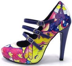 Colorful pumps from Apparel Dynasty via  Just Married with Coupons!