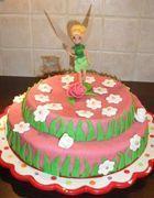 Gâteau de la Fée Clochette