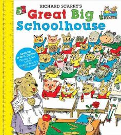 Richard Scarry books - I LOVED them!