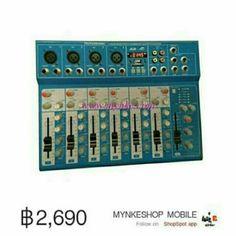 ขาย SUKE มิกเซอร์7ช่อง T7 USB MP3 ผสมสัญญาณเสียง เล่นเพลง MP3 มีช่อง USB SD CARD พร้อมจอ LED แสดงสถานะกา ในราคา ฿2,690 ซื้อได้ที่ Shopee ตอนนี้เลย!http://shopee.co.th/mynke.com/3462509  #ShopeeTH