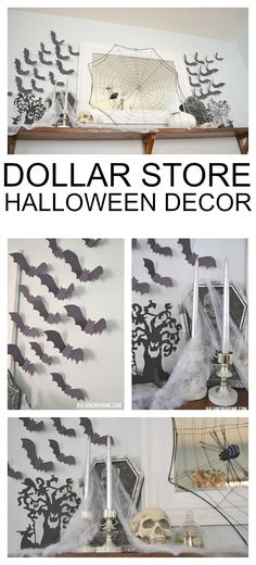 46 Yard Decorations For Halloween Diy Dollar Stores Halloween Dorm, Halloween School Treats, Fairy Halloween Costumes, Dollar Store Halloween, Halloween Door Decorations, Halloween Home Decor, Halloween Crafts, Halloween Party, Halloween Stuff