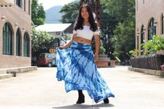Tie Dye Skirt /Boho Tie Dye Skirt/ Long Skirt / Long Boho Skirt / Maxi Skirt / Full Length Skirt / Boho Beach Skirt / Modest Skirt / Full Length Skirts, Plus Size Skirts, Modest Skirts, Boho Skirts, Elastic Waist Skirt, Beach Skirt, Cropped Top, Cotton Skirt, Tie Dye Skirt