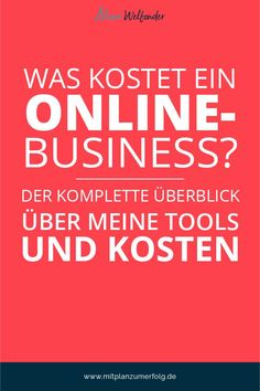 How much does an online business cost? The complete overview of my tools and costs - What does such an online business cost and which tools do you need at all? The complete overview us - Business Marketing, Internet Marketing, Business Tips, Business Launch, Multi Level Marketing, Social Media Marketing, Content Marketing, Affiliate Marketing, Amazon Jobs
