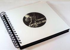 Fotoalben - XXL Hochzeitsalbum Fotoalbum aus Schallplatte - ein Designerstück von Aurum bei DaWanda