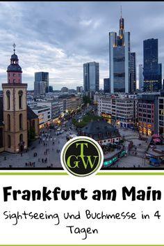 Die #Buchmesse in #Frankfurt am #Main ist ein Highlight. Den Besuch kann man gut mit #Sightseeing also einem #Städtetrip verbinden. Hier meine #Tipps
