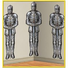 Check out Medieval Wall of Knights Backdrop Decoration - Cheap Party Supplies…