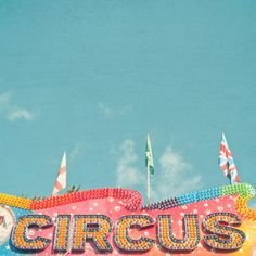 Poster | CIRCUS LIGHTS von Cassia Beck | more posters at http://moreposter.de