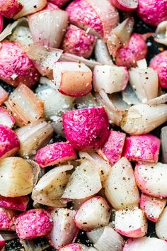 If you don't love radishes, this 5-ingredient Roasted Radishes and Onions recipe will definitely change your mind!