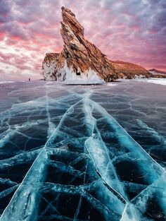I Walked On Frozen Baikal, The Deepest And Oldest Lake On Earth To Capture Its Otherworldly Beauty Again