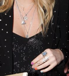 Kesha Bright Nail Polish - Kesha flaunted a bright multi-colored mani during an appearance at the BBC Radio One studio.