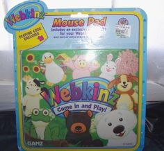 New Ganz Webkinz Mouse Pad + Code + Exclusive Online Gift Sealed Country Living