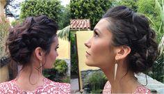 Nina Dobrev's romantic Golden Globes hairstyle